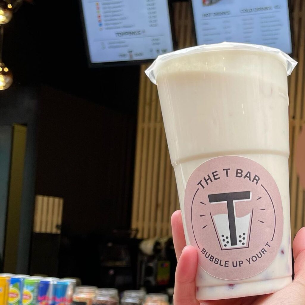 Bubble Coconut Cream T